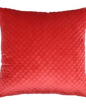 Perna rosie velvet Baryton Rouge 45x45cm