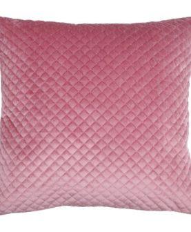 Perna roz velur Baryton Rose 45x45 cm