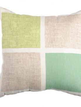 Perna rustica verde patrate 50x50 cm 100% in Colorsquare
