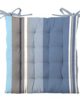 Perna scaun albastra bumbac Santacruz 40x40 cm