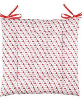 Perna scaun rosie Isocele Rouge 40x40 cm
