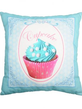 Perna turcoaz prajitura Cupcake Chantilly3 50x50 cm