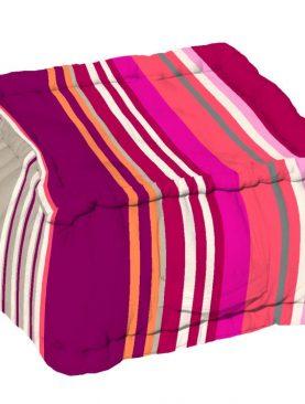 Perna podea mov Santacruz Prune 40x40x30 cm
