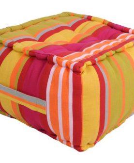 Perna podea bumbac Ventura multicolor 40x40x30 cm