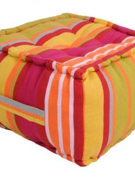 Perna podea colorata Ventura multicolor 40x40x30 cm
