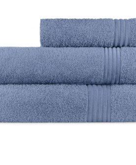 Prosop albastru 70x140 cm bumbac 6005 Calpe Azul (01)