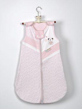Sac dormit bebelusi roz bumbac 924 32x65 cm