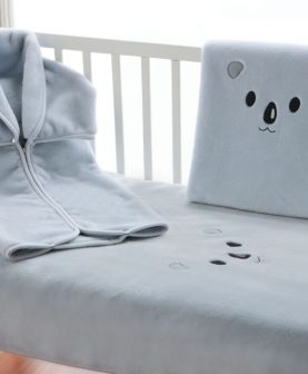 Sac dormit gri bebe Koala 6287 Gris 80x90 cm