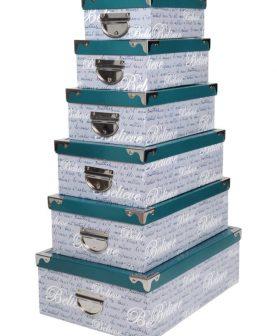 Set 6 cutii depozitare Fashion Canard