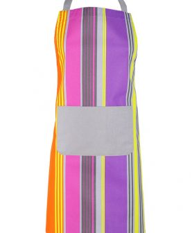 Sort bucatarie bumbac dungi colorate Lorette 70x80 cm (Franta)
