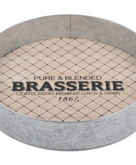 Tavita rotunda bauturi Charline diametru 35 cm