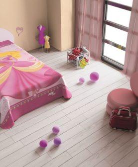 cuvertura de pat cu printesa