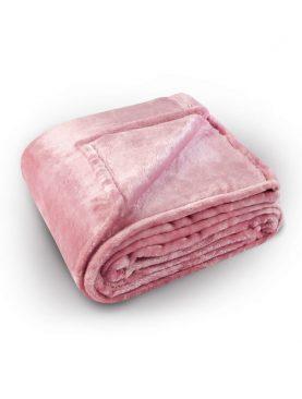 Cuvertura roz pufoasa Pilonga 5074 220x240 cm