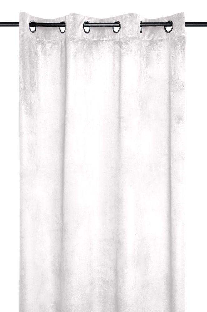 draperie catifea bej Danae ivoire 140×260 cm