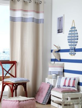 Draperie marinareasca Nautical Plouezec 140x260 cm