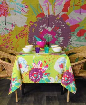 fete de masa din bumbac colorata