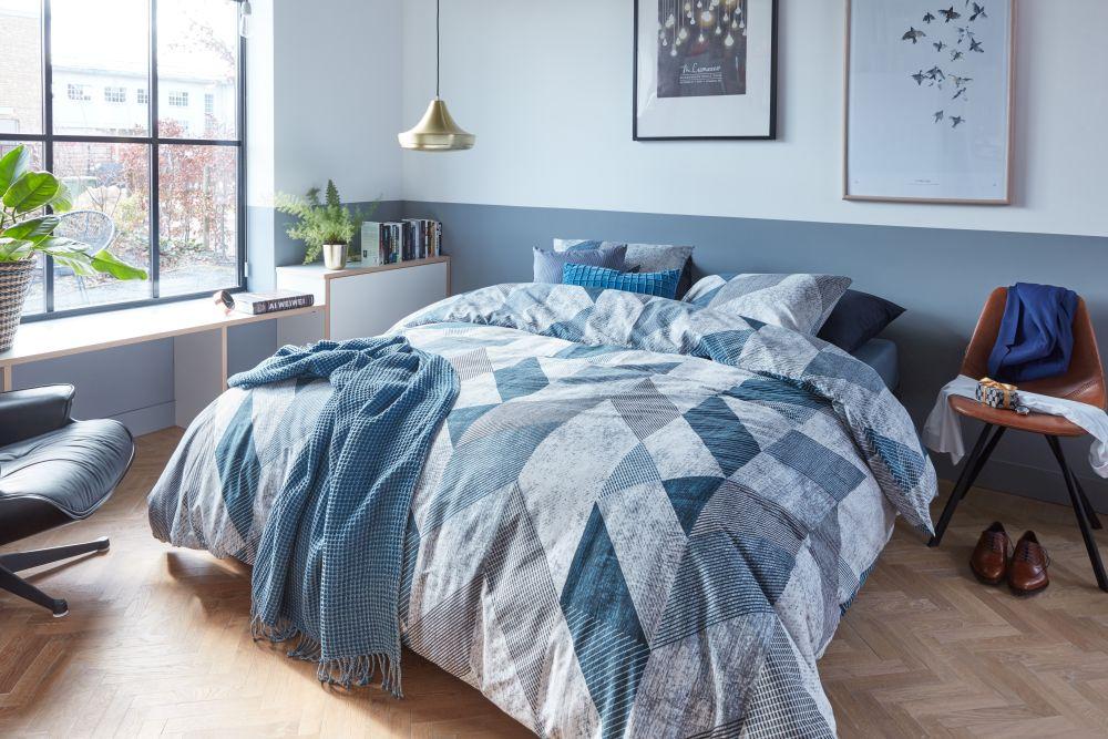 Vise placute si linistite cu un set de lenjerii de pat de bumbac de la Dekoration.ro