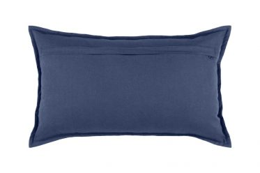 perna albastra bumbac dehusabila Olonne Marine 30x50 cm