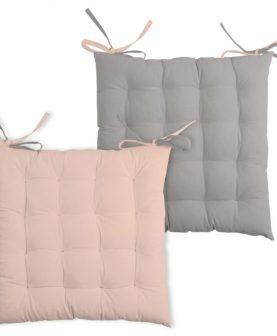 perna roz bumbac scaun