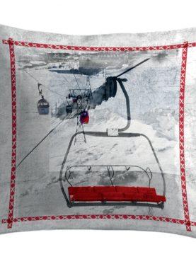Perna cabana munte Telecabine3 50x50 cm