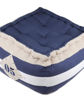 perna de podea marinareasca cu maner Olonne Marine 40x40x30 cm